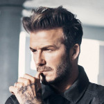 How to style your hair like David Beckham