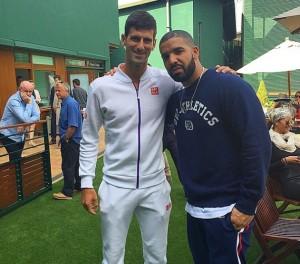 Drake Wimbledon 2015