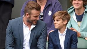 David Beckham Wimbledon 2015