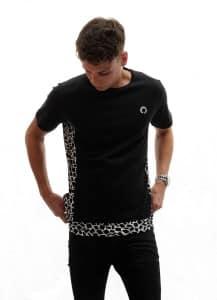 Giraffe Print Zen Apparel T shirt