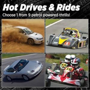 Hot Drives & Rides Experience Hot Drives & Rides Experience 1 Hot Drives & Rides Experience 2 Hot Drives & Rides Experience 3 HOT DRIVES & RIDES EXPERIENCE £39.99