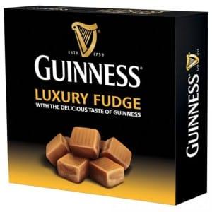 GUINNESS LUXURY FUDGE BOX £3.99