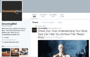 Twitter - GroomingMail