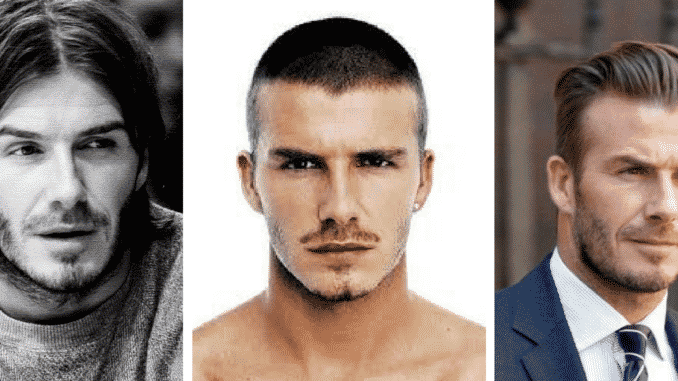 A Look Back At David Beckhams Hairstyles Over The Years Expert