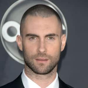 Adam Levine Buzz Cut