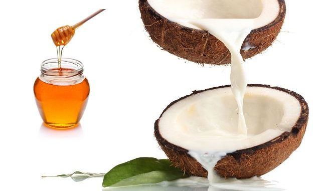 Honey and Coconut Milk are a natural home remedy for stretch marks
