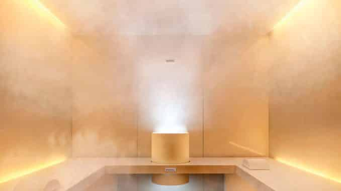 Steam Room - benefits of the steam room
