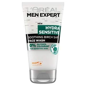 L'Oreal Men Expert Hydra Sensitive Face Wash For Shaving With Sensitive Skin