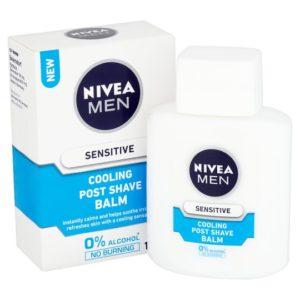 Nivea Men Sensitive Cooling Post Shave Balm For Shaving With Sensitive Skin